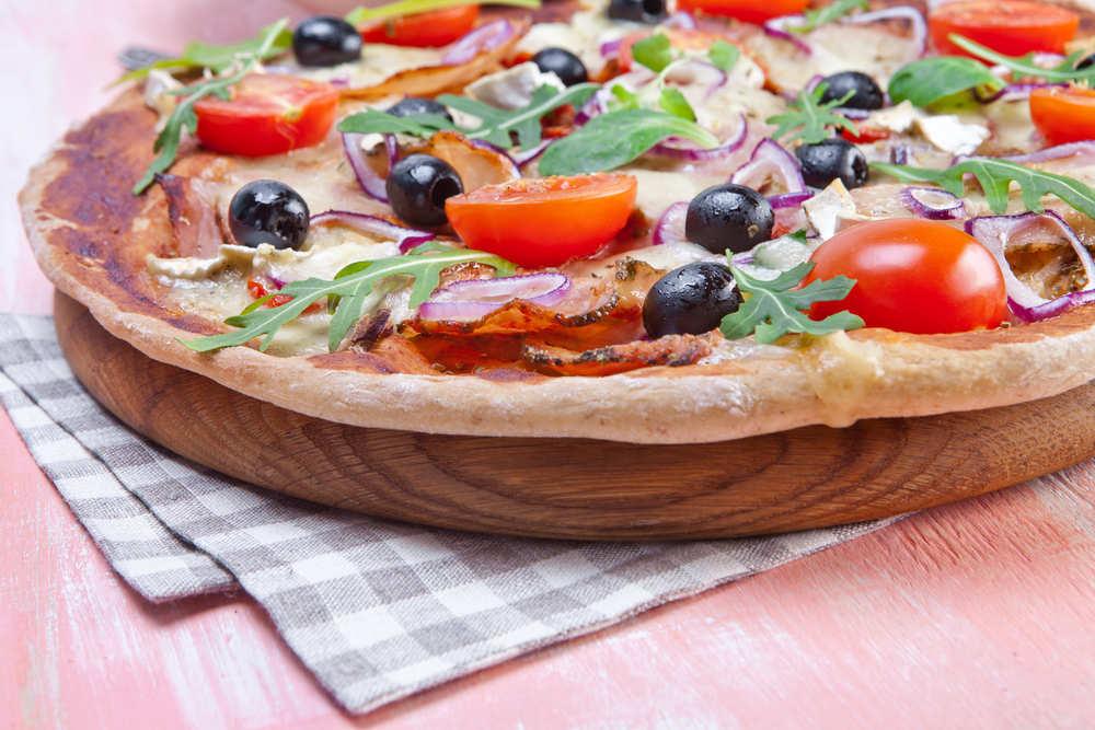 Pizza gourmet, un manjar de dioses